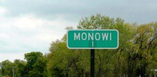 Monowi, cartello abitanti città
