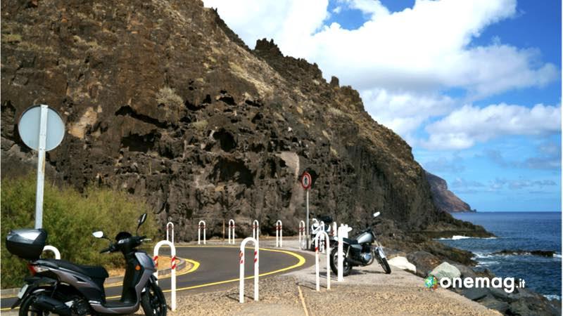 Tenerife, parcheggio moto