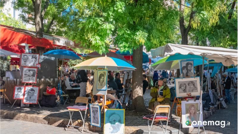Cosa visitare a Parigi in alta stagione, Caffè di Place du Tertre