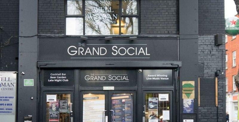 The grand social, Dublino