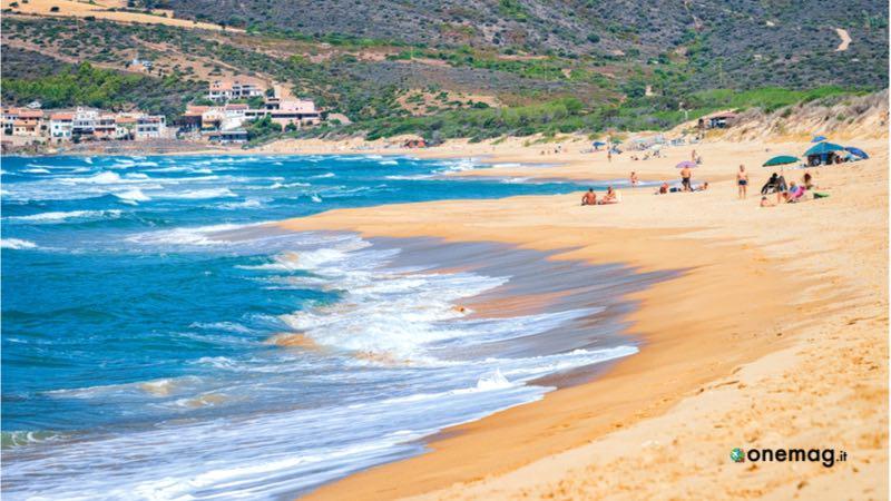 La spiaggia di Buggerru