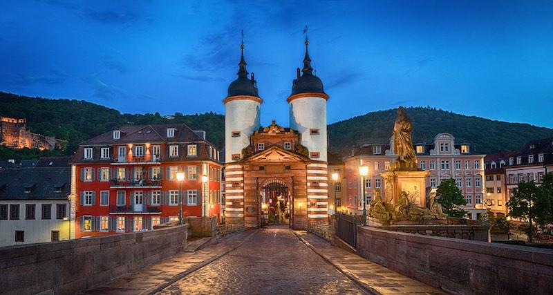 Le città più romantiche della Germania, Heidelberg
