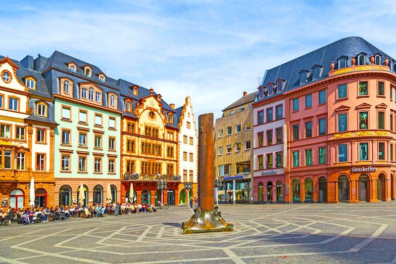 La città più romantiche della Germania, Magonza