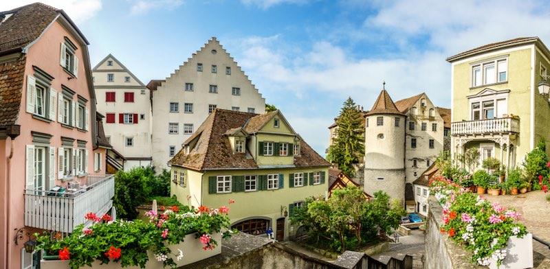 Le città più romantiche della Germania, Meersburg
