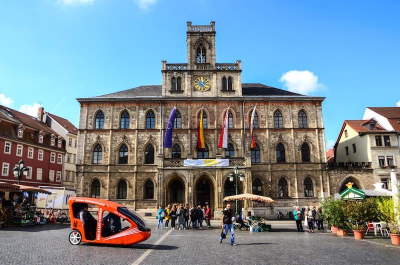 Le città più romantiche della Germania, Weimar