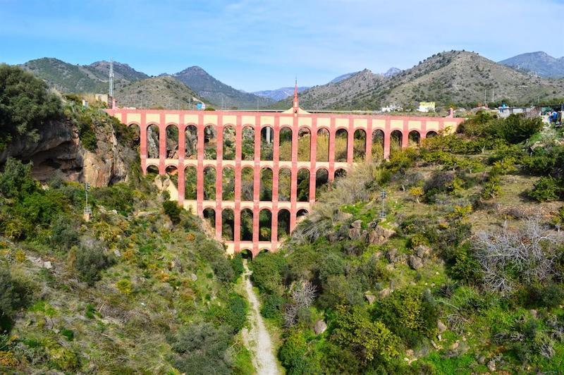 Acquedotto di El Aguila a Nerja