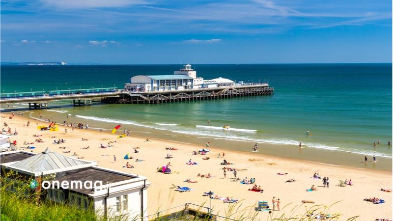 Spiaggia di Bournemouth, Regno Unito