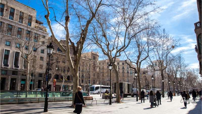 Le più belle strade di Barcellona, Passeig de Gracià