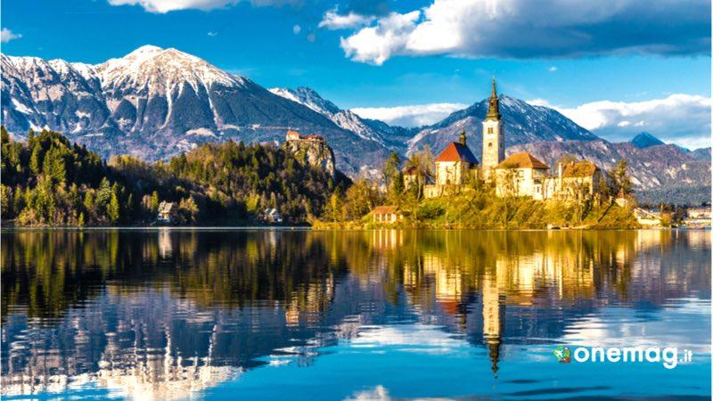 Il lago di Bled, Slovenia