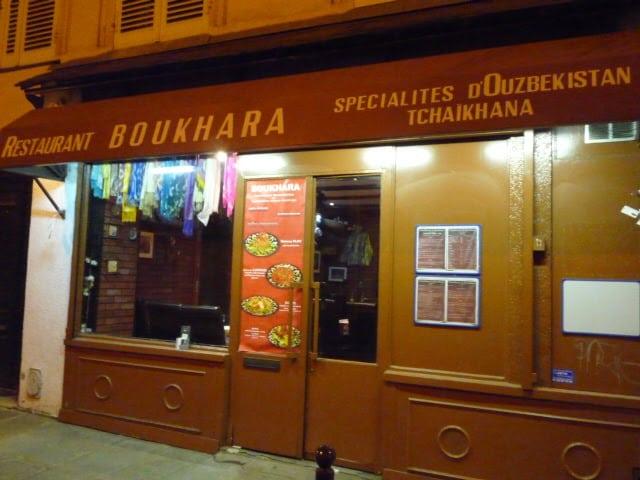 Parigi, ristorante Boukhara