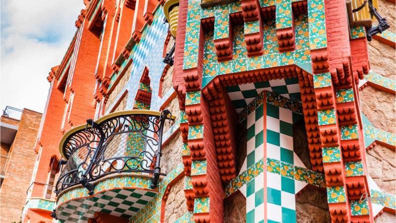 Casa Vincens Barcellona