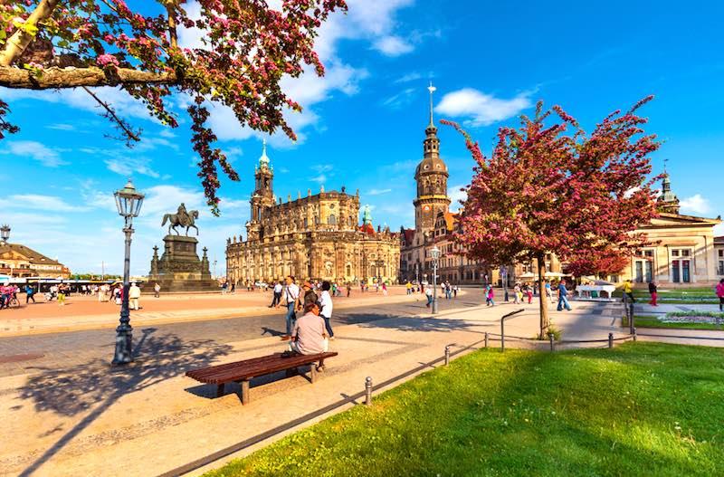 Le città più romantiche della Germania, Dresda