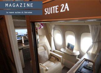 Le nuove suites di Emirates, il viaggio tutto comfort