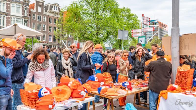 Olanda, la Festa del Re