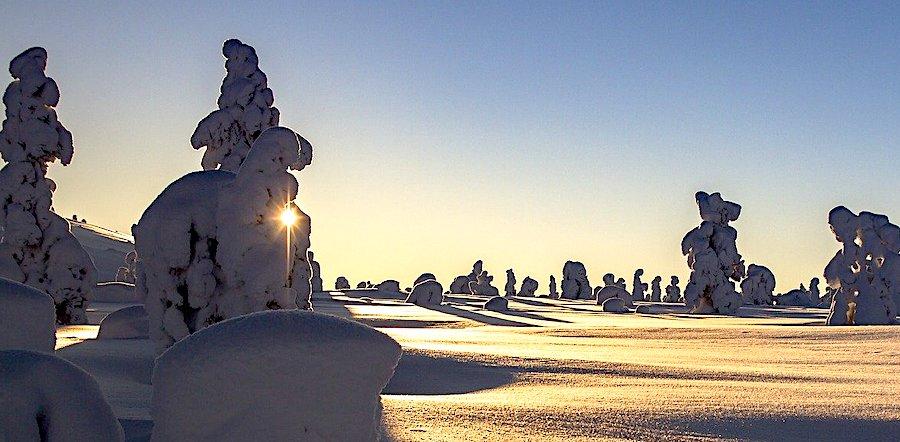 Quando andare in Finlandia, Lapponia veduta