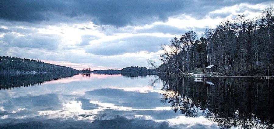 Quando visitare la Finlandia, tramonto