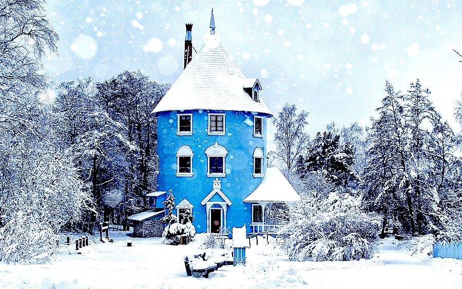 Quando visitare la Finlandia, nevicata