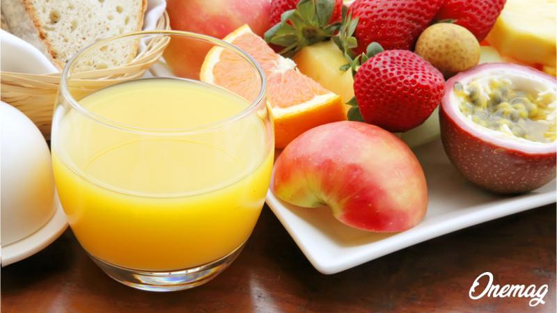 Frutta e verdura a colazione in hotel
