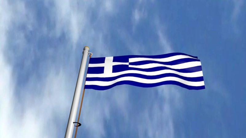 Storia della bandiera greca
