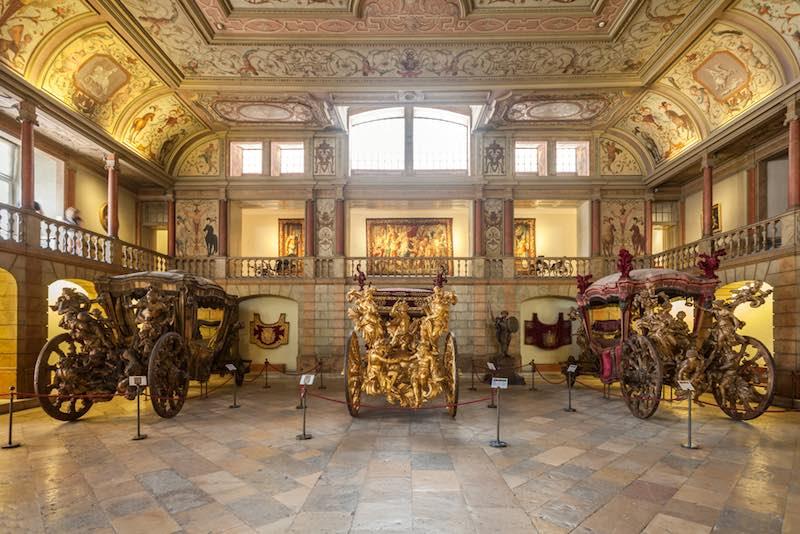 Lisbona, museo delle carrozze