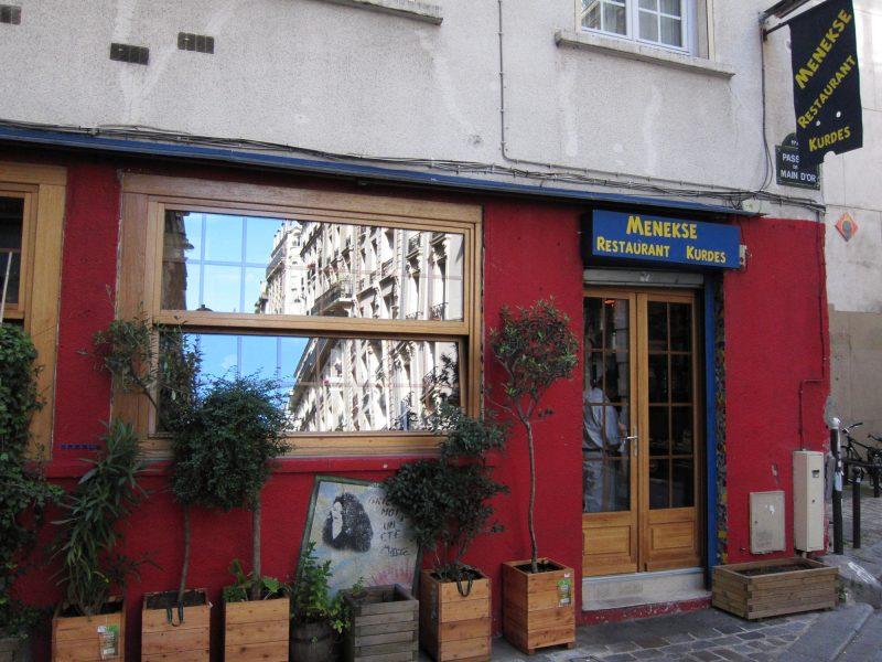 Parigi, ristorante Menekse