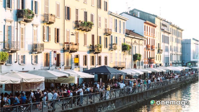 Milano, aperitivo ai Navigli