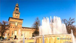 Milano, Castello Sforzesco facciata