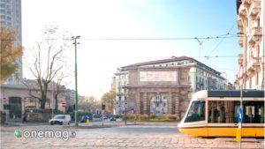 Milano, arco di Porta Romana