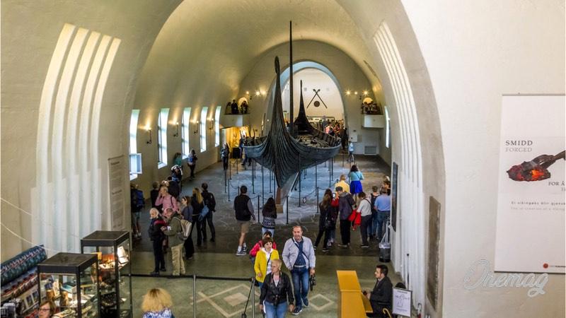 Cosa vedere a Oslo, museo delle navi vichinghe