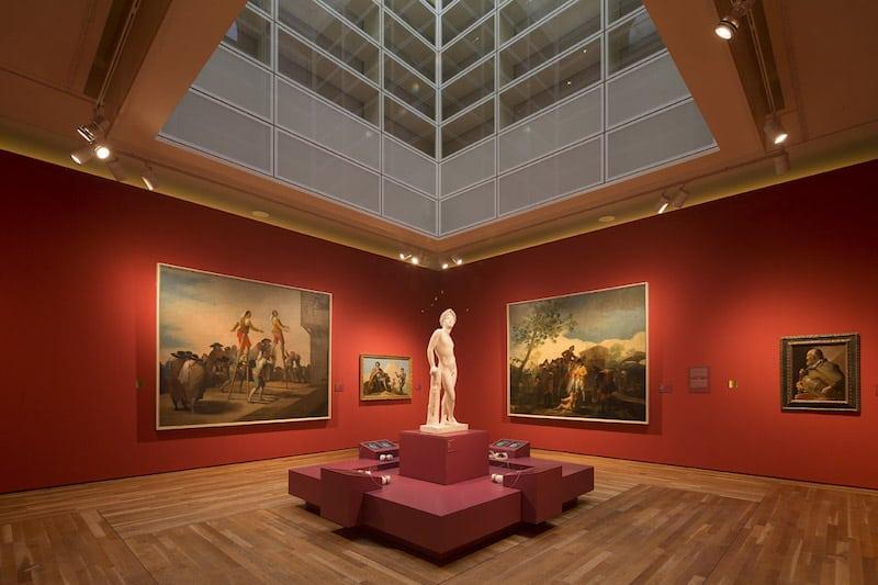 La sala di Goya del Museo del Prado, Madrid