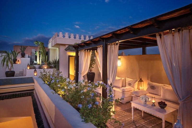 Migliori hotel di lusso, Riad Kheirredine, Marrakech.