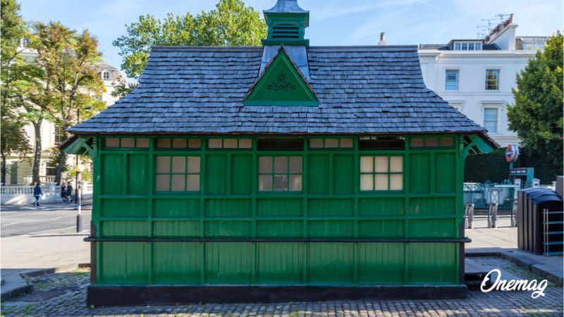 Il rifugio di Cabman a Londra
