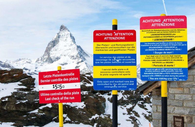 Le lingue ufficiali della Svizzera