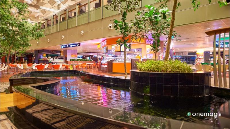 Veduta dell'aeroporto del futuro, il Singapore Changi
