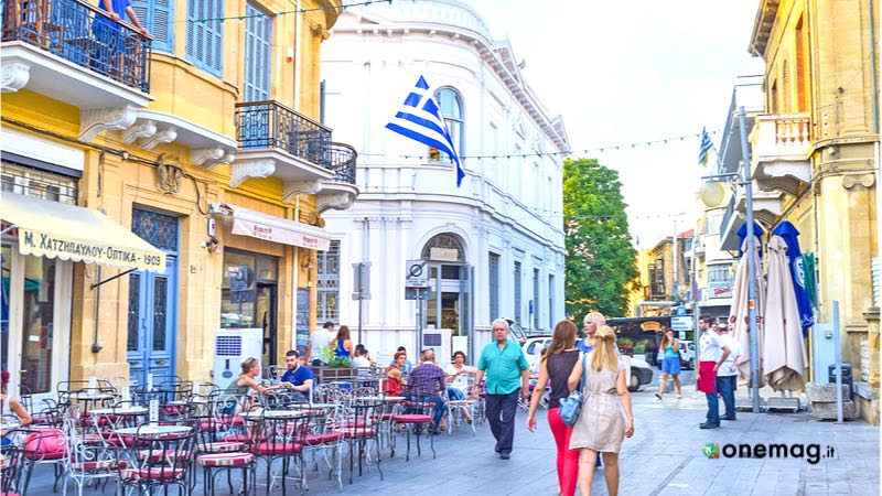 Il quartiere Laiki Geitonia di Nicosia