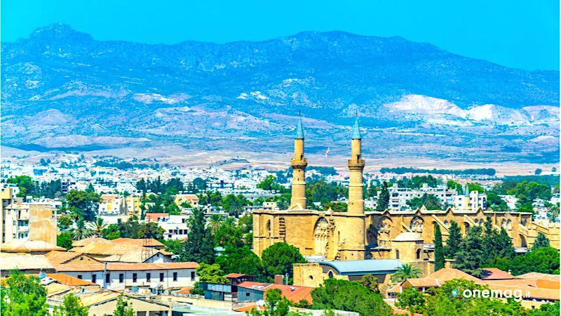 Panorama di Lefkosia, Cipro