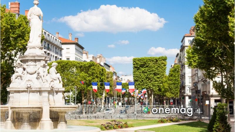 Piazza Marechal Lyautey Lione