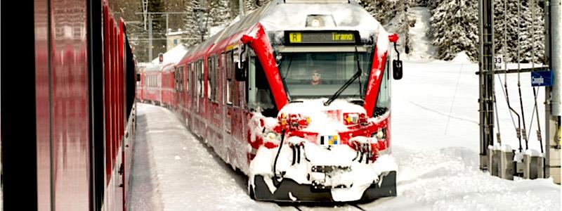 Bernina Express, Cavaglia