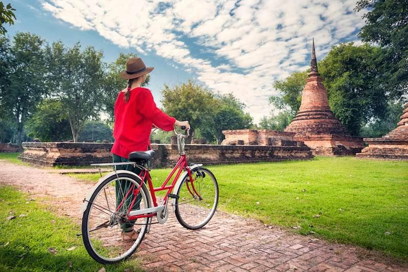 Viaggio in bicicletta, Bali