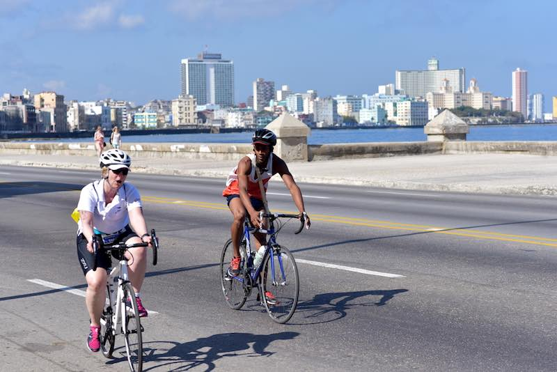 Viaggio in bicicletta, Cuba