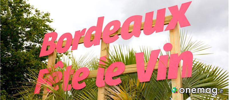 Fete le Vin, Bordeaux