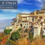 I borghi italiani più caratteristici
