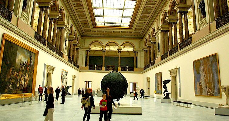 Cosa vedere a Bruxelles, Museo delle Belle Arti