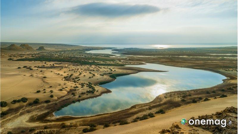 I laghi dell'Egitto, il Magic Lake