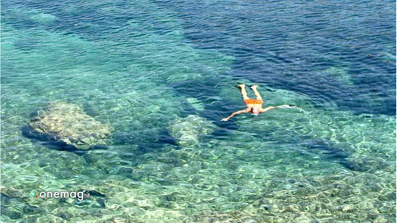 Lampedusa, diving