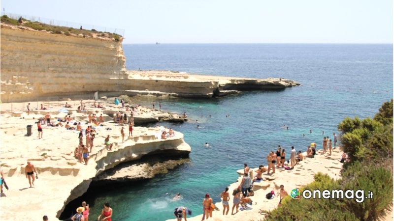 Malta, piscina di St. Peter