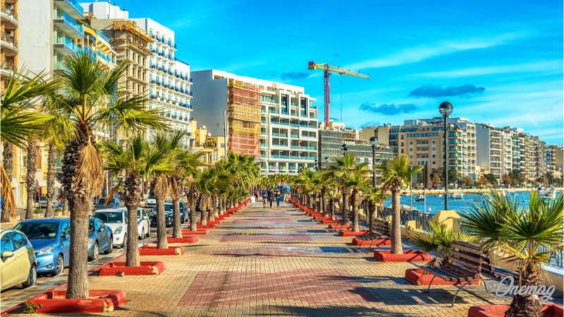 Cosa vedere a Malta, Sliema