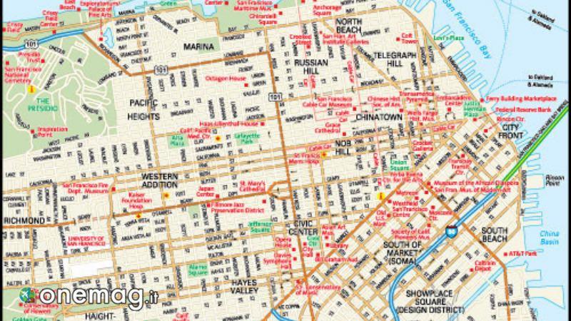 Mappa di San Francisco