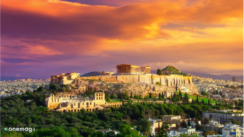 L'Acropoli di Atene in Grecia, la meta ideale per gli over 50