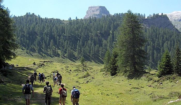 Parchi naturali del Nord Italia, Parco Adamello veduta